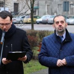 Odsłonięcie tablicy upamiętniającej prof. Leszka Kuberskiego (19.12.2016)