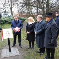 Odsłonięcie tablicy upamiętniającej prof. Leszka Kuberskiego (19.12.2016)_7