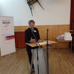 Uroczyste ukonstytuowanie Serbskiego Sejmu